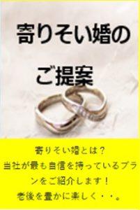 寄り添い婚の提案